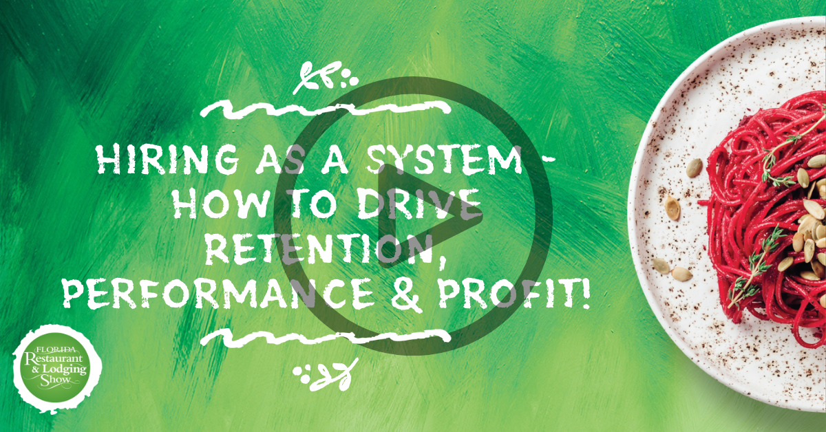 Hiring as a System - How to Drive Retention, Performance & Profit!