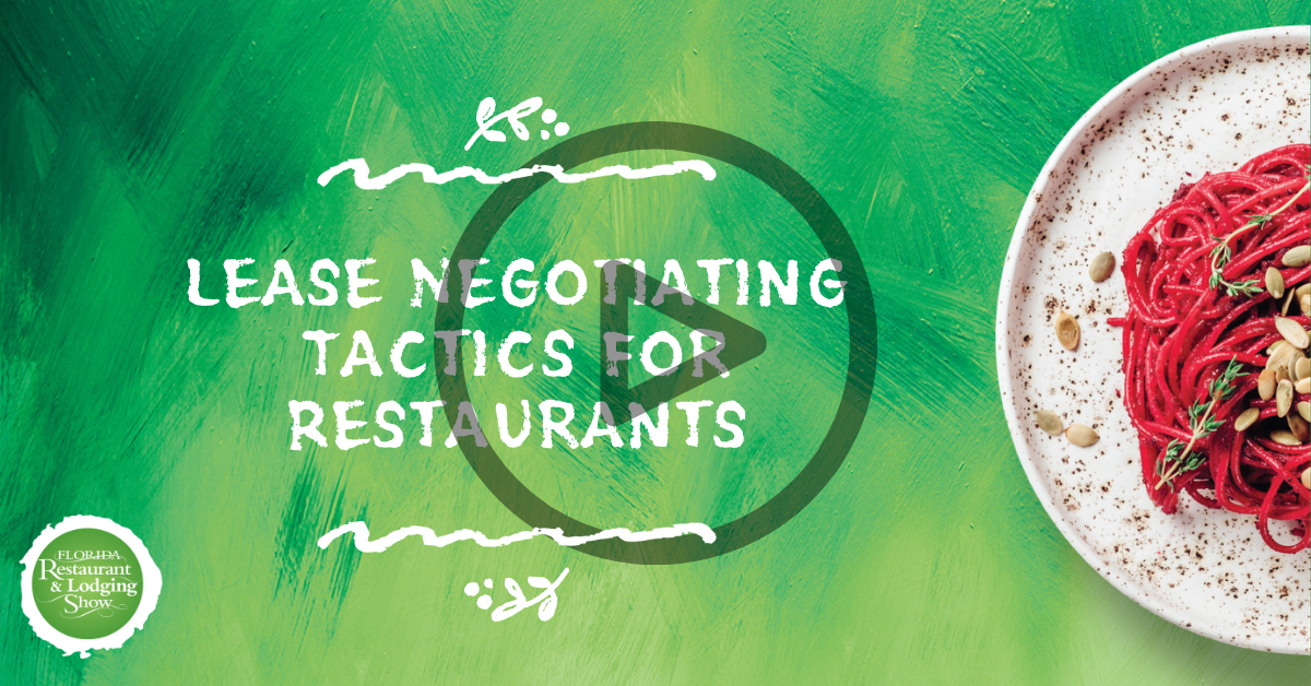 Lease Negotiating Tactics for Restaurants