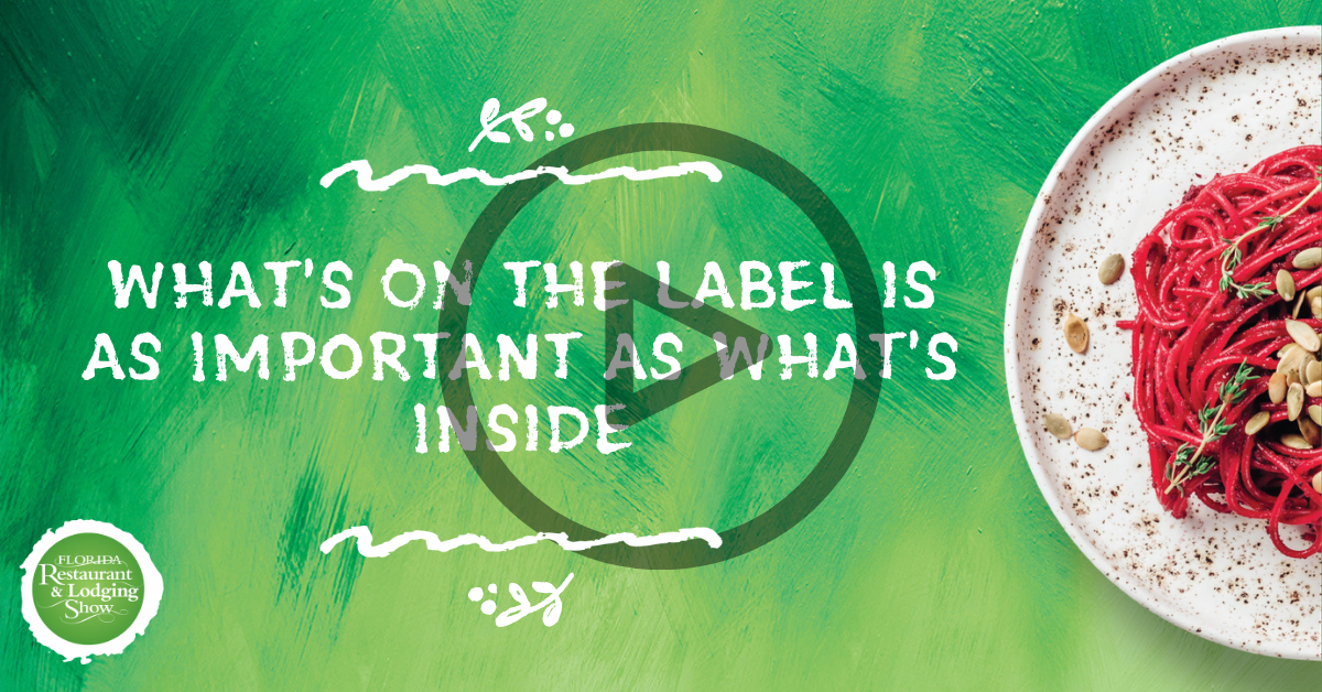 What's ON the Label is as Important as What's Inside